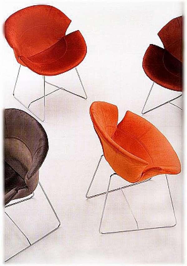 Der Stuhl GIOVANNETTI Daisy Color arancia