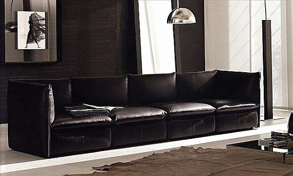 Couch NICOLINE SALOTTI YOUNG CON CERNIERE PICCOLA SARTORIA