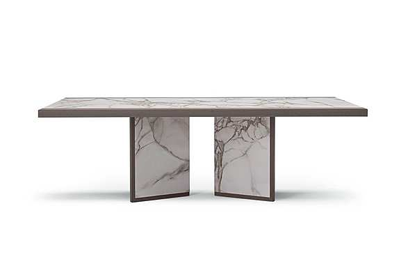 Tisch COSTANTINI PIETRO 9381T JET SET Dining Table Catalogo cop. argento