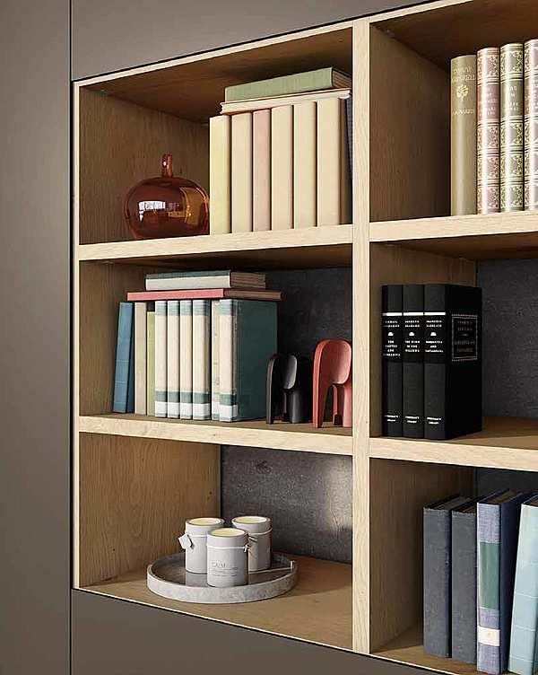 """Bücherregal GRANZOTTO Composizione """" Libreria ROVERE JUPITER"""""""