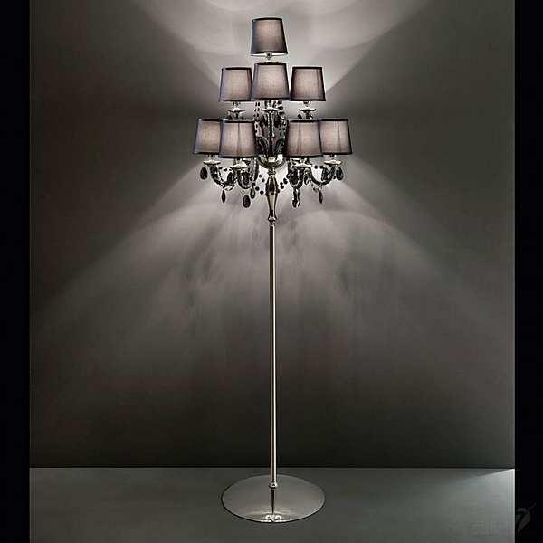 Stehlampe ITALAMP 445/CDF - 6+3+1 Legenda