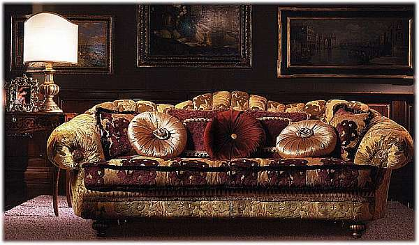 Couch PALMOBILI Art. 907/3P ITALIAN PRINCESS