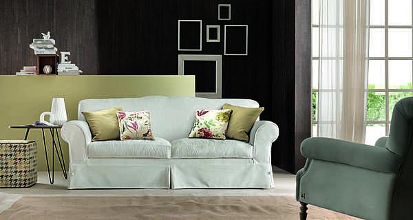 Couch TRECI SALOTTI Cotone White & Soft