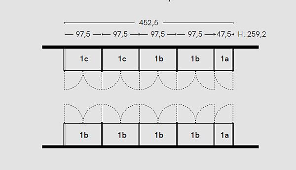 Zusammensetzung Komposition Progetto B. 1