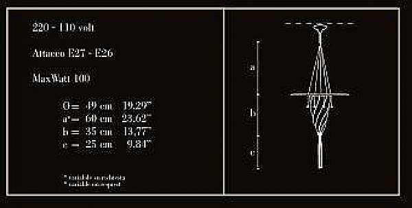 Kronleuchter ARCHEO VENICE DESIGN 111-00