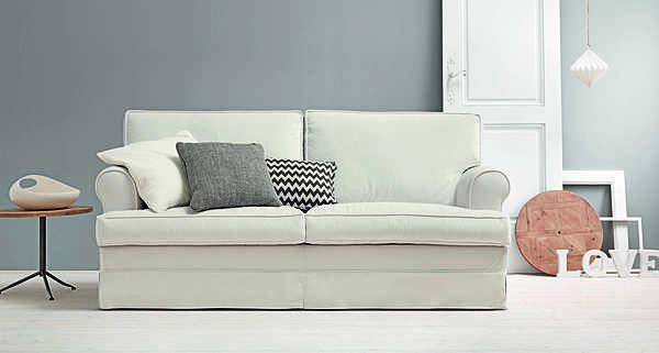 Couch TRECI SALOTTI MILK White & Soft