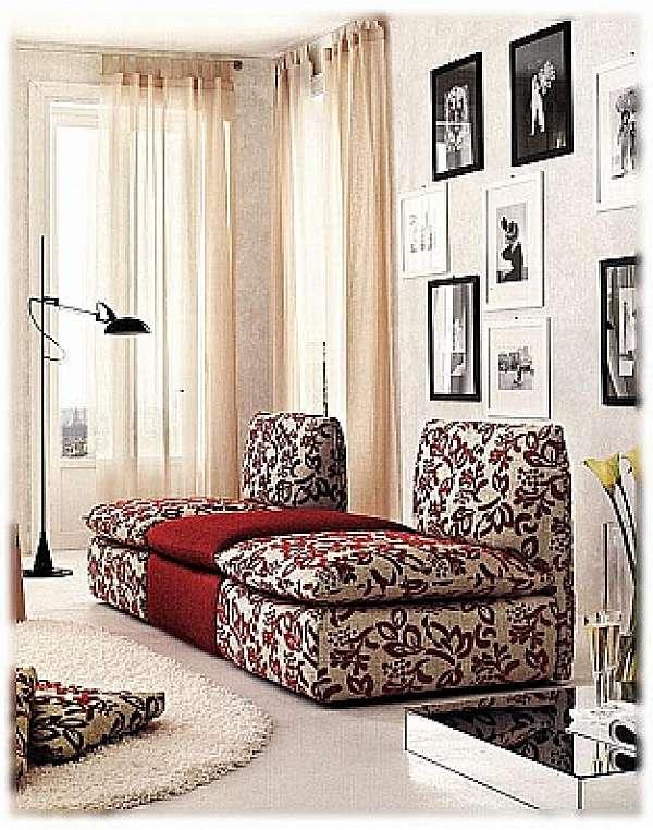 Couch NICOLINE SALOTTI YOUNG CON CERNIERE PICCOLA SARTORIA HISTORY