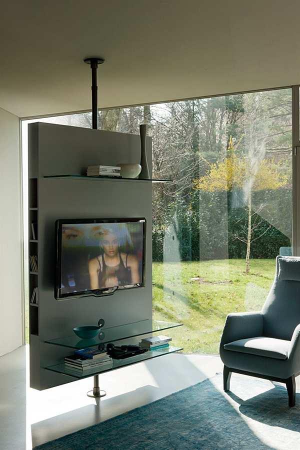 TV-Rack-HI-FI PORADA Media Centre a soffitto