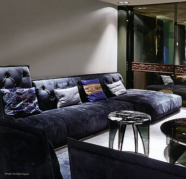 Couch LONGHI (F.LLI LONGHI) W 555 Collection Loveluxe