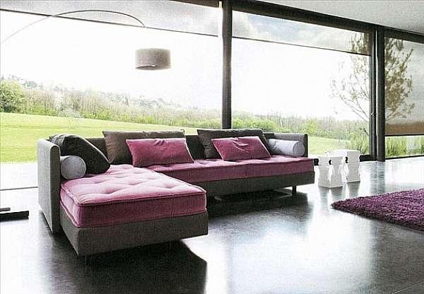 Couch LIGNE ROSET Nomade Imbottiti