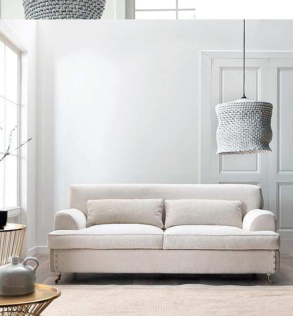 Couch TRECI SALOTTI FAGIOLO White & Soft