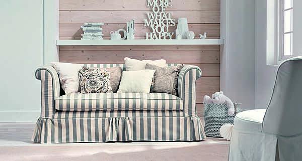 Couch TRECI SALOTTI Fazzoletto White & Soft